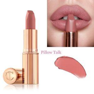 New! Charlotte Tilbury Lipstick in PILLOW TALK